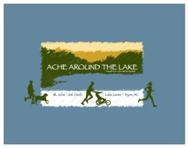 Ache Around the Lake 2014 Logo